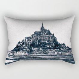 Mont Saint Michel, France Rectangular Pillow