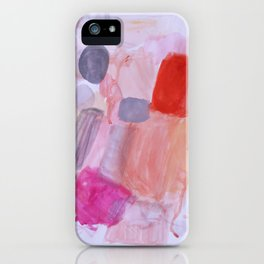 Whisper Pink iPhone Case