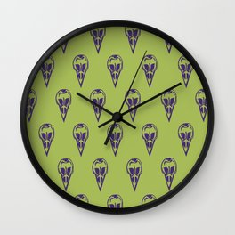 Shrunken Head Wall Clock