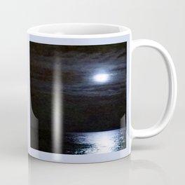 Moon Over Lake Michigan Coffee Mug