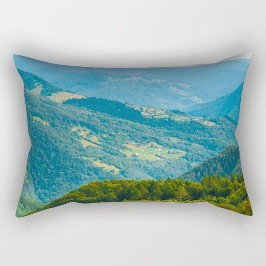 mountain shepherd Rectangular Pillow