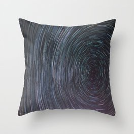 Night Time Trails  Throw Pillow