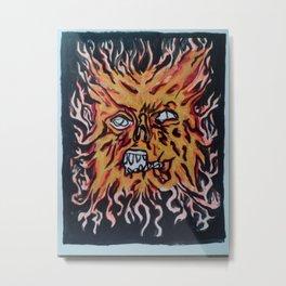 Evil Dead -Necronomicon Metal Print