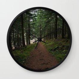 Take the fox's path - Scotland Wall Clock