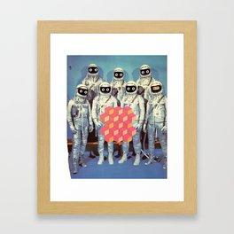 SPACE SHIT Framed Art Print