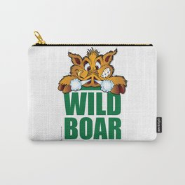 Wild Boar from Arkansas! Carry-All Pouch