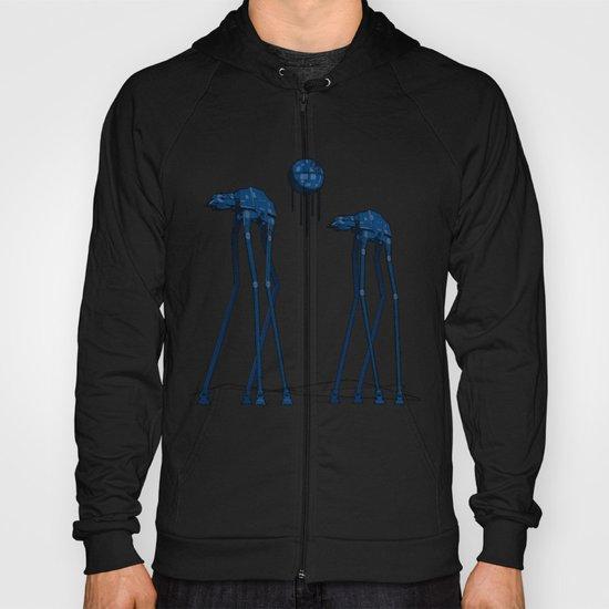 Dali's Mechanical Elephants - Blue Sky Hoody