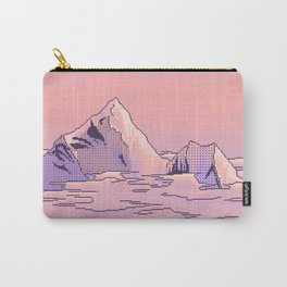 Peach Sunset Carry-All Pouch