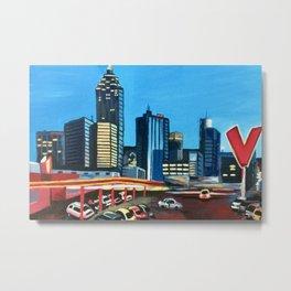 Varsity, Atlanta, Georgia Metal Print