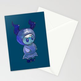 Moonkhin 4 (Iridum Indigo) Stationery Cards