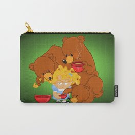 Goldilocks and the Three Bears Carry-All Pouch