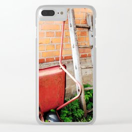 Abandoned XVIII Clear iPhone Case