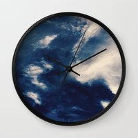 earth Wall Clocks featuring Earth  by Jane Lacey Smith