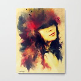 Love is the beauty of the soul.  Metal Print