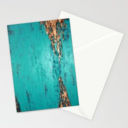 Turquoise serenity Stationery Cards