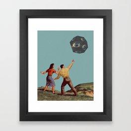 Adam and Eve Framed Art Print