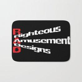 RaD Slanted Logo Bath Mat
