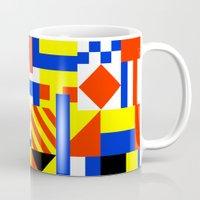 sail Mugs featuring Sail by Jan Luzar