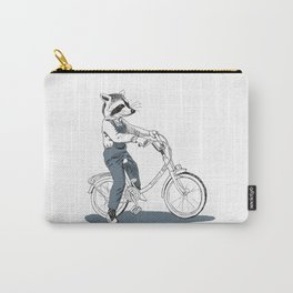 Raccoon bike Carry-All Pouch