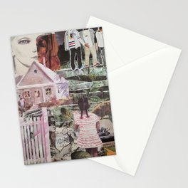You Are Known by the Colors You Keep Stationery Cards