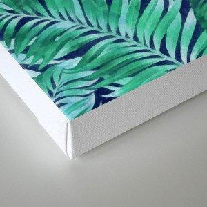 Palm leaves III Canvas Print