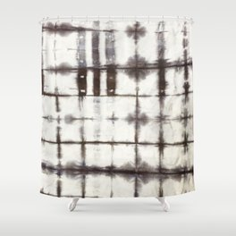 Shibori Dye Shower Curtain