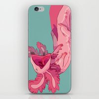 musa iPhone & iPod Skins featuring axololtls by musa