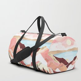 Autumn Lake Sunrise Duffle Bag