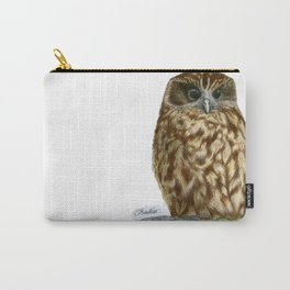 New Zealand Morepork Carry-All Pouch