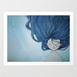 Little Mermaid Art Print