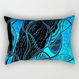 Lava Lamp Aquarium Rectangular Pillow