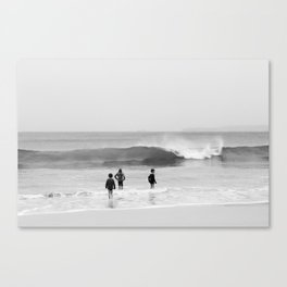 children in the sea Canvas Print