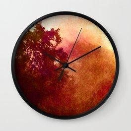 A Mid-Summer's Evening Wall Clock
