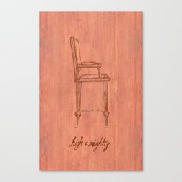 High & Mighty Canvas Print