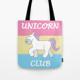 Pan Pride Flag Unicorn Tote Bag