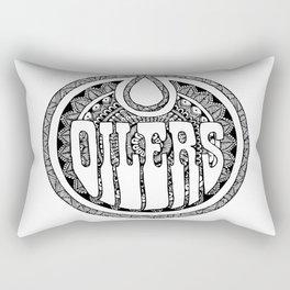 Ice Hockey team - Oilers Rectangular Pillow