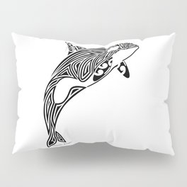 Tribal Orca Pillow Sham