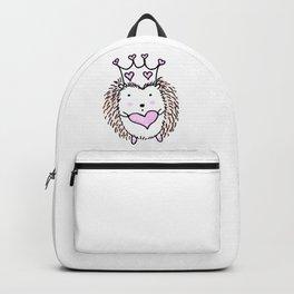 Cute Little Hedgehog Backpack