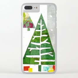 Oh Christmas Tree, oh Christmas Tree! Clear iPhone Case