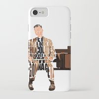 forrest gump iPhone & iPod Cases featuring Forrest Gump by Ayse Deniz