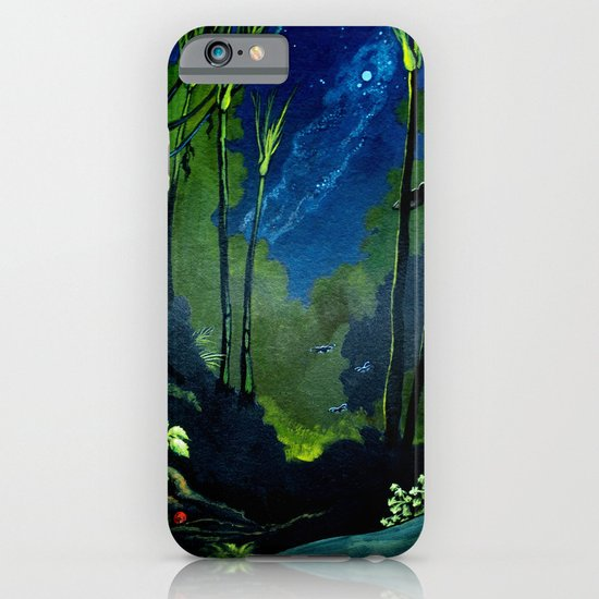 Silent Night in the New Zealand Forest iPhone & iPod Case