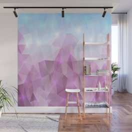 Abstract polygonal background Wall Mural