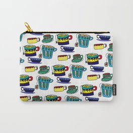 English Tea Cups Carry-All Pouch
