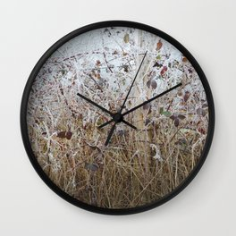 1er Janvier Wall Clock