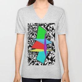 Color Sculpture Unisex V-Neck