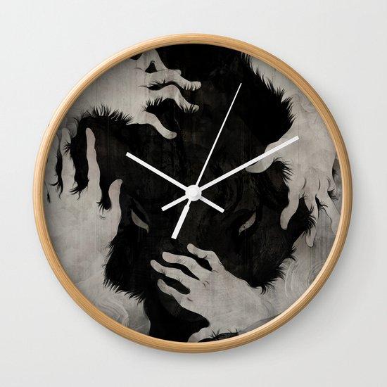 Wild Dog Wall Clock