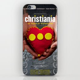 Christiania - 40 Years of Occupation iPhone Skin