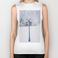narnia Biker Tanks featuring Welcome to Narnia by Angela Stansell Photography