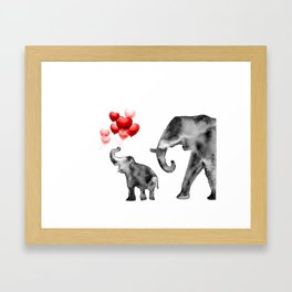 Happy Valentines Framed Art Print