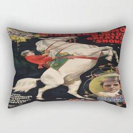Vintage poster - Circus Rectangular Pillow